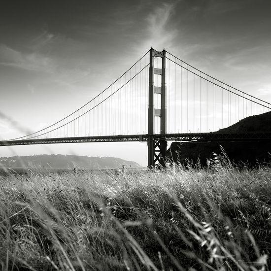 Landscape Blackandwhite San Francisco Golden Gate