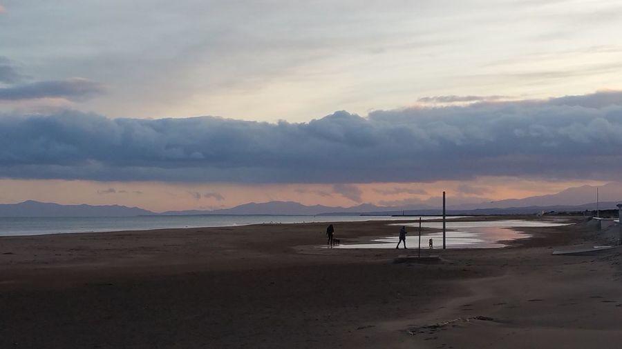 Taking Photos Sea And Sky