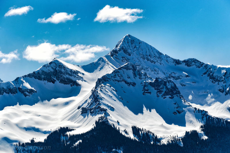 Mountain Snow Tree Cold Temperature Winter Snowcapped Mountain Sky Mountain Range Cloud - Sky My Best Photo