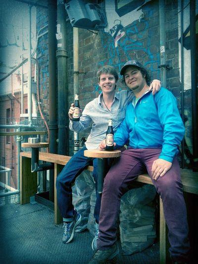 Beer  Lunch  Balcony