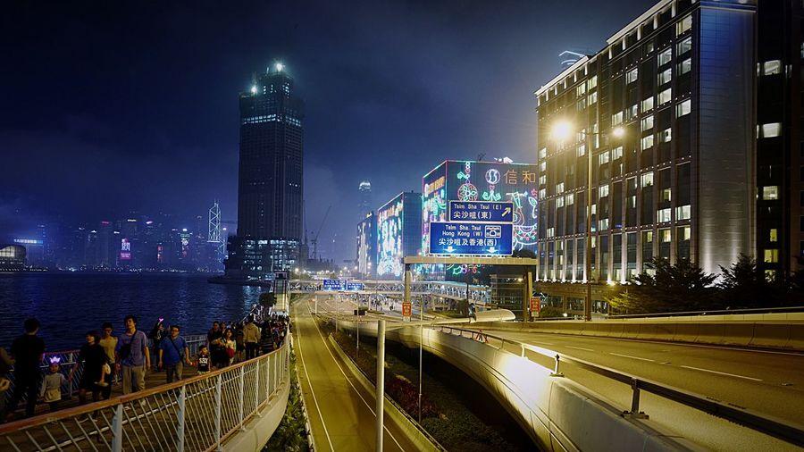 TST East / 24DEC2015 HongKong Discoverhongkong Leica Leicaq Nightphotography Streetphotography New Years Resolutions 2016 Hello World Traveling Walking Around 香港 夜景