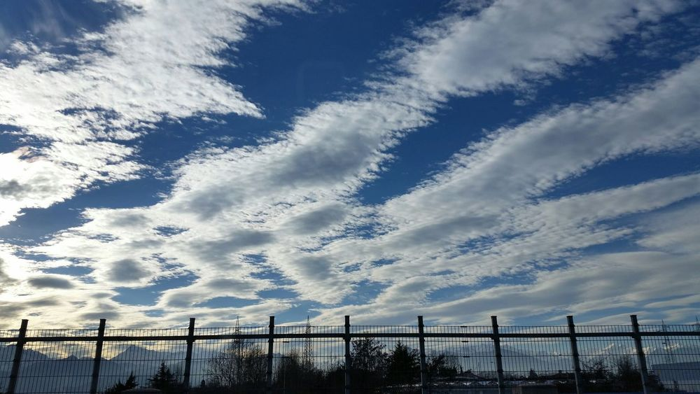 2015  Cuneo Sky Clouds Italy