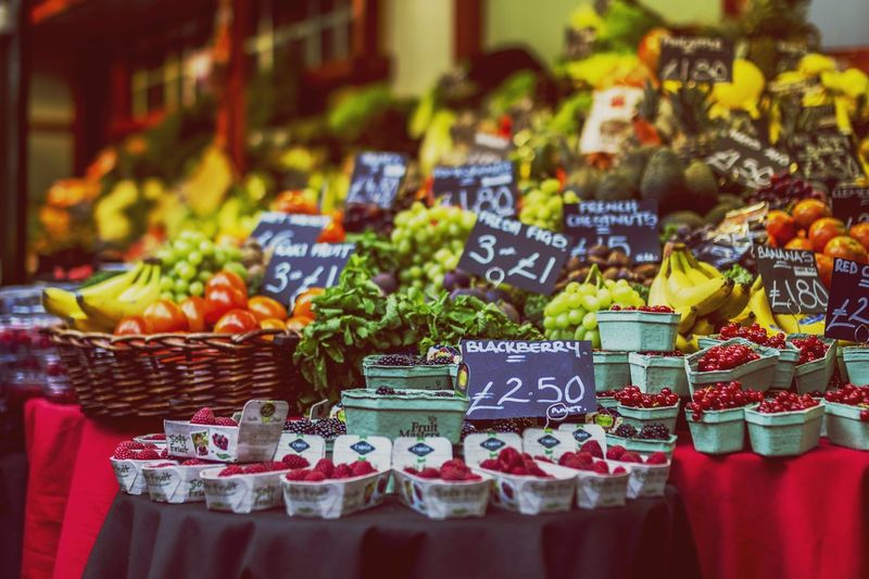 Beautifully Organized Freshness Selective Focus Freshness Market Market Stall Outdoors Healthy Eating Day Large Group Of Objects Choice