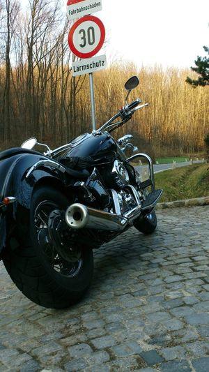 Motorcycles Motorrad Motorrad Fahren Höhenstraße März2015 Yamaha Drag Star