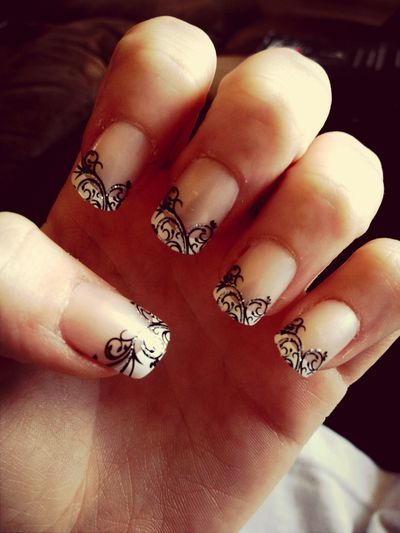 My nails for prom today :D Prom Nails Nails <3 Prom