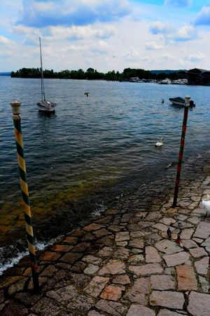 Stresa Italy Beauty In Nature Cloud - Sky Day Nature No People Outdoors Scenics Sea Sky Tranquil Scene Tranquility Tree Water