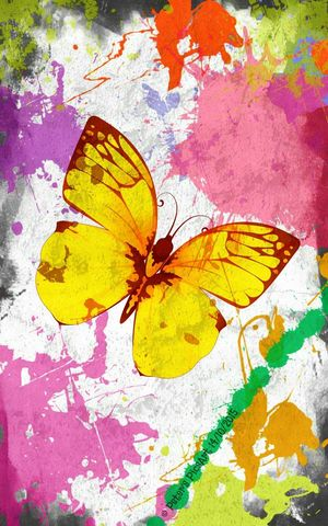Nature Butterfly Painting