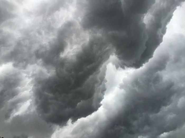 Angry looking clouds moving in ahead of thunderstorms earlier this afternoon. WeatherPro: Your Perfect Weather Shot Thunderstorm Clouds Storm Clouds