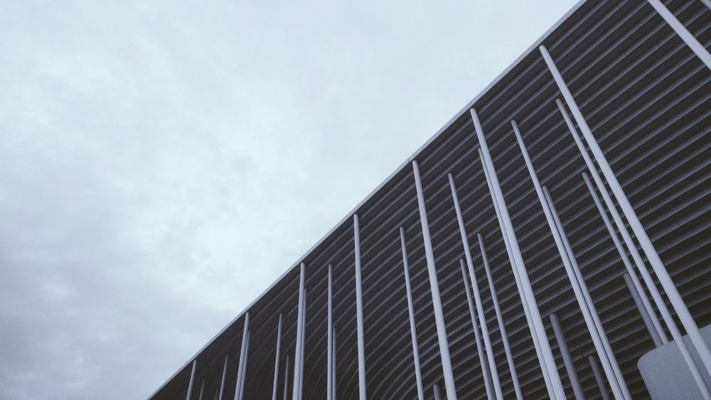 The Architect - 2017 EyeEm Awards Built Structure Sky Building Exterior Outdoors Architecture No People Day Modern France🇫🇷 Stadium Bourdeaux Herzog&deMeuron Matmutatlantique
