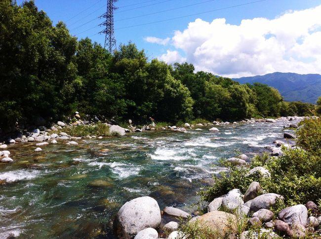 Nature On Your Doorstep River Nature Beautiful Blue Sky Japan