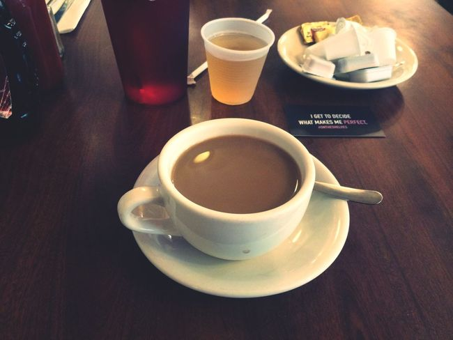 Morning tea. NYC Tea Morning Yummy