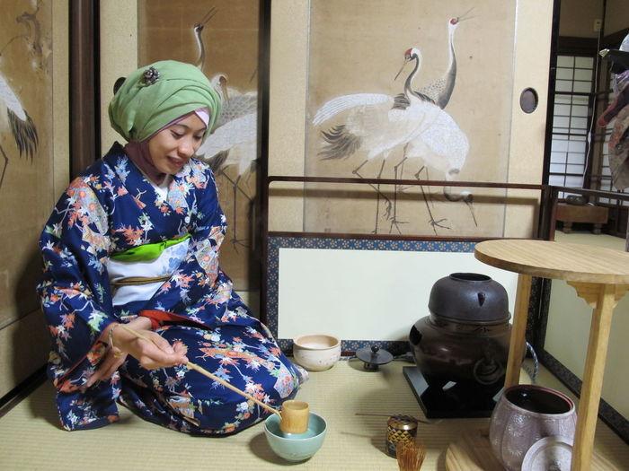 Art Culture Japanese Culture Kimonomuslimah Livinginjapan Lovejapan Lovehijab Greentea GreenteaceremonyCeremony