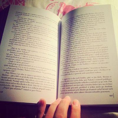 Night Reading Tagsforlikes Bed beforesleeping instaphoto book haruki_murakami quite nice story