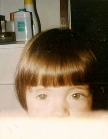 I as a child Hello World Child Hi! Love Green Eyes Eyes Girls Cute Happiness Big Eyes