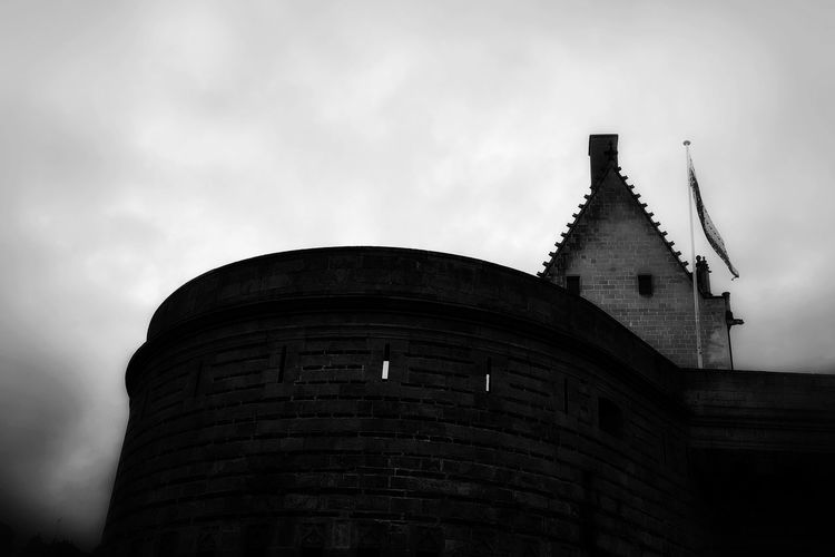 Castel Architecture_bw Black & White