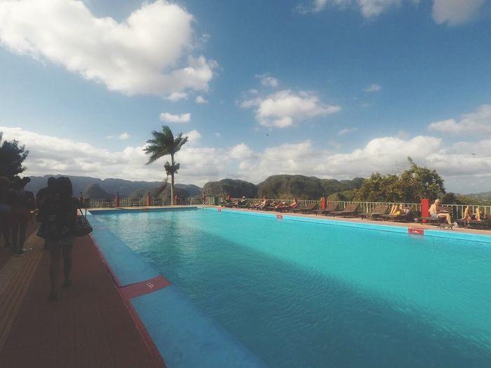 Viñales Valley, Cuba Sky Water Nature Outdoors Travel Destinations Mountain Nature Blue Viñales Cuba