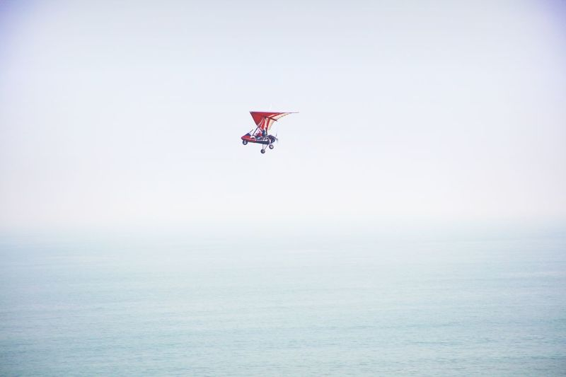 Sea Seascape Flying Aircraft EyeEm Nature Lover