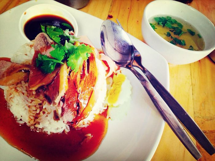 Eating Thaifood Food