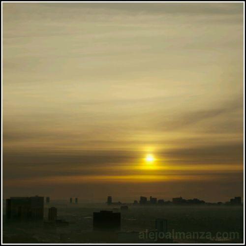 Good Morning Texas Medical Center! Sunrise Fog Foggy Morning Houston