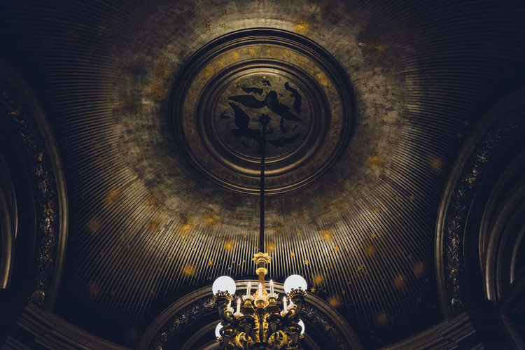 Louvre Shadows & Lights Architecture Art Chandelier Cupola Illuminated Indoors  Light And Shadow Low Angle View Shapes And Forms Spirituality Stars
