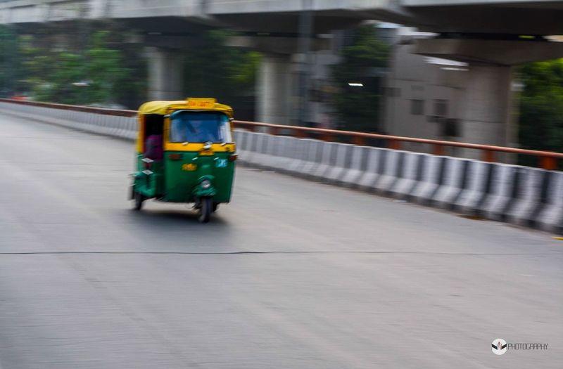 Road Travel Auto Speed