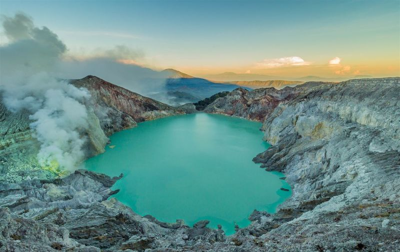 Majestic Volcanic Landscape