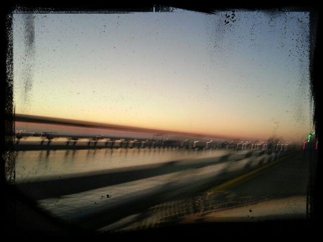 Kinda blury but, Bay Bridge
