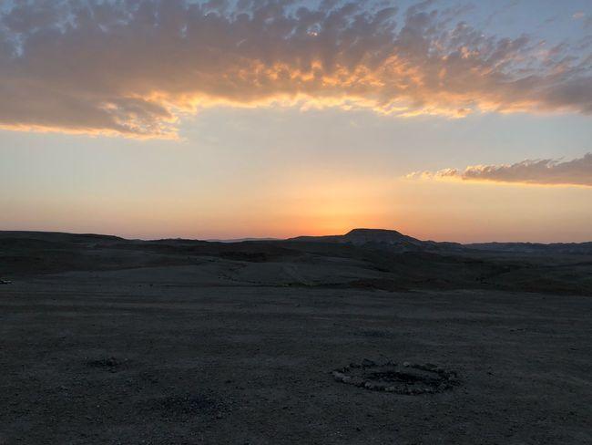 Sunset Dead Sea Israel Sky Sunset Cloud - Sky Landscape Scenics - Nature Environment Beauty In Nature