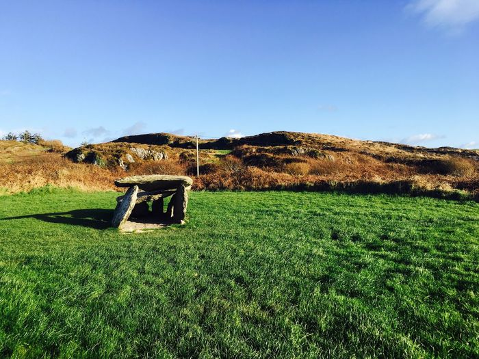 Altar Wild Atlantic Way West Cork Ancient Architecture Ancient History Ancient Ireland Altar Sky Grass Plant Field Environment Tranquility Land Sky Grass Plant Field Environment Tranquility Land Landscape Tranquil Scene Blue Scenics - Nature Beauty In Nature Architecture