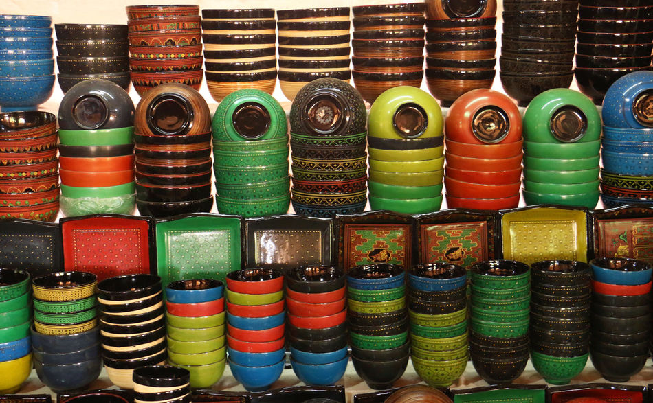 Myanmar Lacquerware . Horizontal Lacquer Myanmar