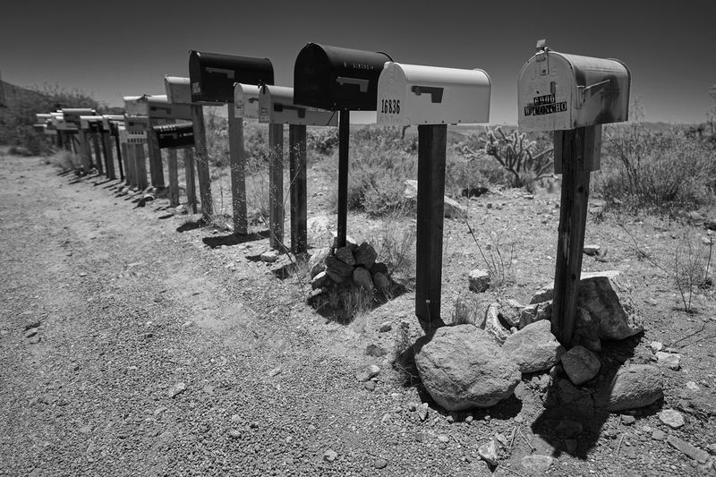 Mailboxes on