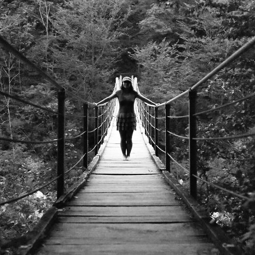August 14 Year Of Photography 2015 Mobile Edit The Adventure Handbook Bridge Nationalpark Blackandwhite