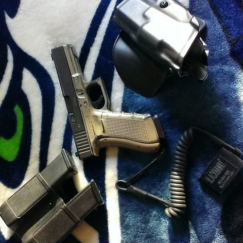 BlackhawkLanyard Glock17Gen4 Seahawks 12thman PewPew LoveMyRights StandUpForYourRights MolonLabe
