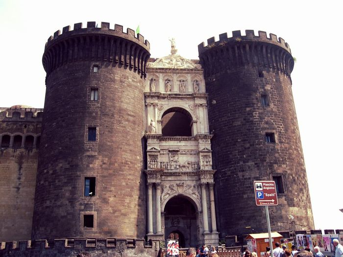 Naples Angioino Travel Photography Architecture Castles