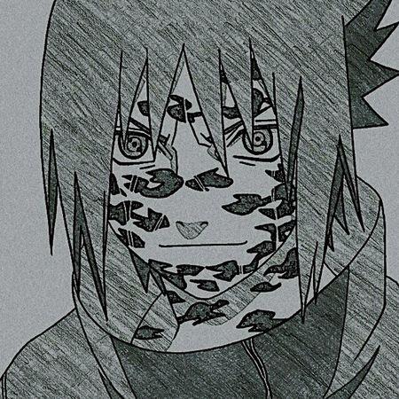Sasuke Uchiha Naruto Anime Drawing Sharingan