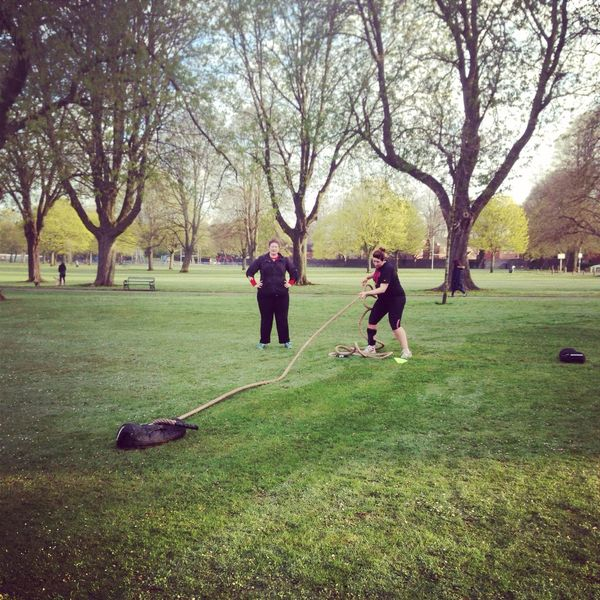 Outdoor bootcamp held everyday with former Royal Marine. I-kan Fitness