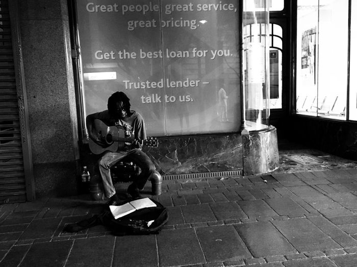Music is my refuge Streetphotography