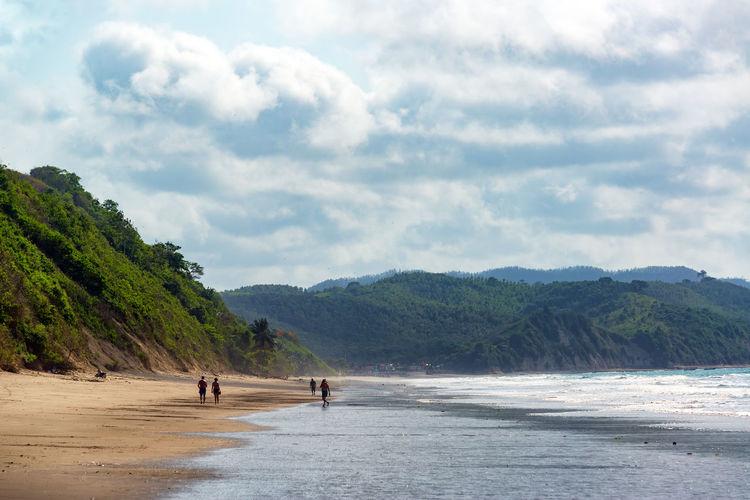 Idyllic Beach In Ecuador