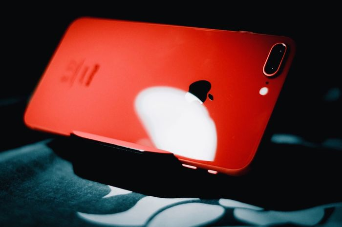 Apple Red Close-up No People Indoors  Arts Culture And Entertainment Luck Gambling Shadow Representation Black Background Control Communication White Color Connection Music Leisure Games Technology Still Life Single Object Sign A New Beginning EyeEmNewHere