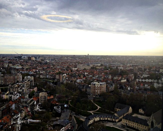 From The Rooftop Brussels Enjoying The View !