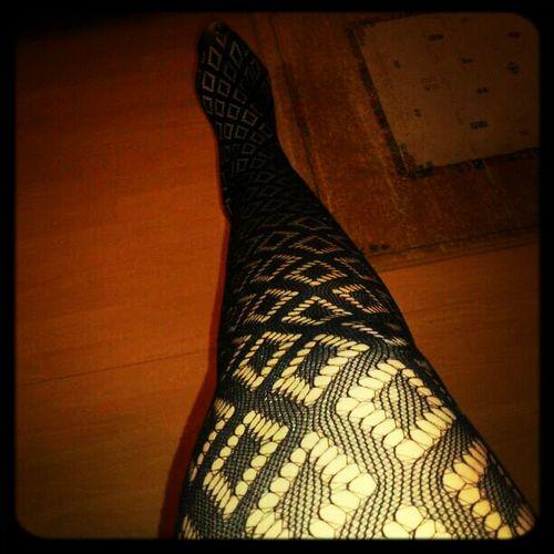 Feet Patterns Legs Fishnet Diamond Tights My Tights Today
