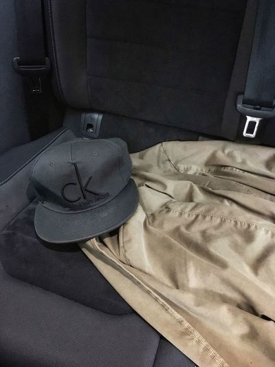 Calvin Klein Hugo Boss Jacket Jacket Cap Inside Car Indoors  No People Close-up Fashion Stories