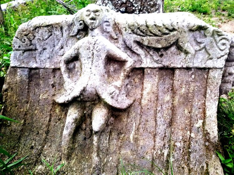 Waruga from tondano war 1808.Ancient of Minahasa , History , Ethnic , Old Culture ,old Semetery Relief , Warrior Cemetery, Gravestones