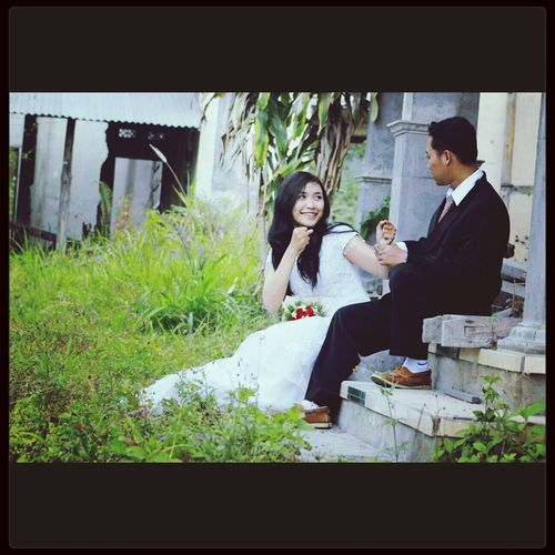 This is my pre wedding with my dear ♥♥♥