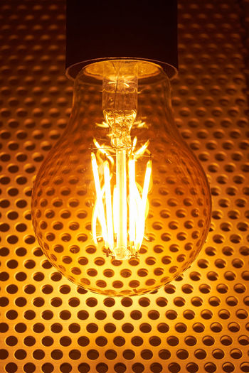 LED lamp LED Ceiling Close-up Electric Lamp Electric Light Electrical Component Electrical Equipment Electricity  Filament Fuel And Power Generation Glass - Material Glowing Illuminated Indoors  Lamp Led Lamp Light Light - Natural Phenomenon Light Bulb Lighting Equipment No People Pattern Power Supply Single Object Technology Transparent Yellow