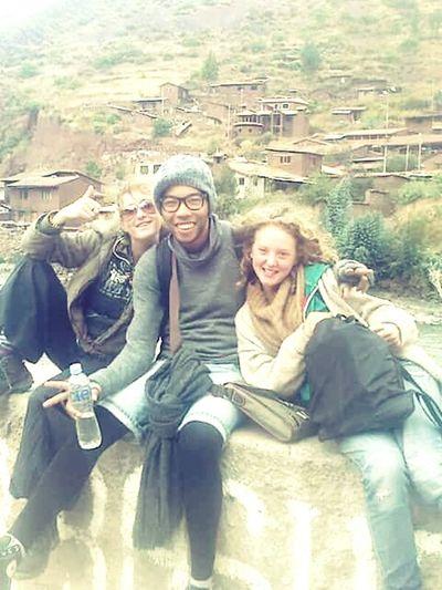 Memories ❤ Bestfriends Sister ❤ Audrey Hi! That's Me Montains    Oldtown?? Alternative Enjoying Life