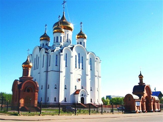Taking Photos Church Gold Summer August Cathedral Quiet Moments Photo