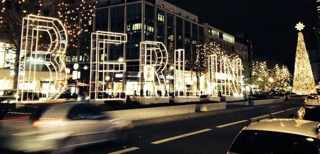 Berlin Night Lights Christmas Lights Me Around The World On The Road On My Way Traveling Europe Eye4photography  Photography