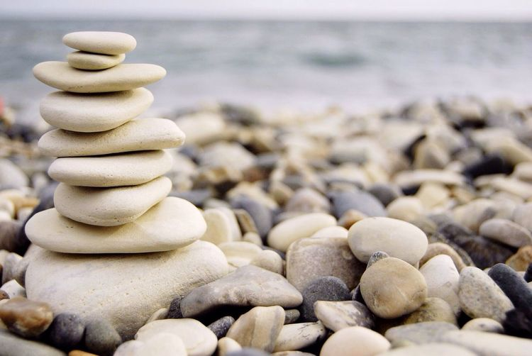 Calm Peace Spa Pebble Stones Stone Beach No People Sea Nature Day Outdoors Beauty Dzen Balance Balance And Composure Balancing Elements Yoga Yoga ॐ Resting Rest Cyprus Larnaka Limassol Agia Napa FC