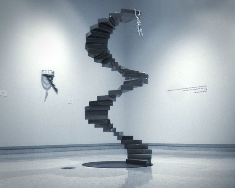Metal Sculpture Art Exhibition Artgallery Blackandwhite Light And Shadow Black & White
